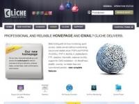 Cliche webbhotell